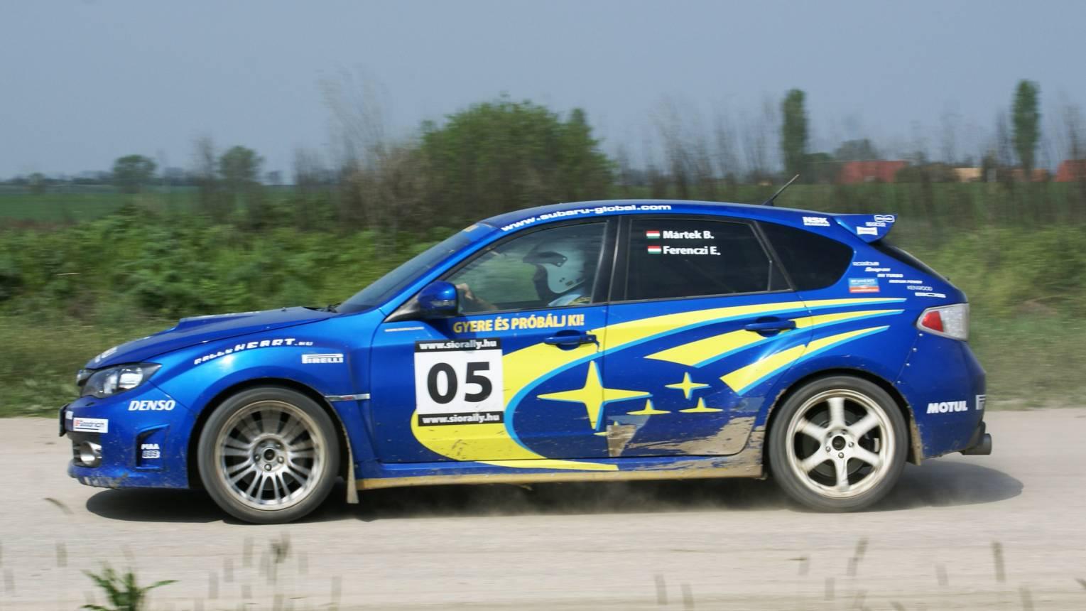 Mitsubishi és Subaru rally