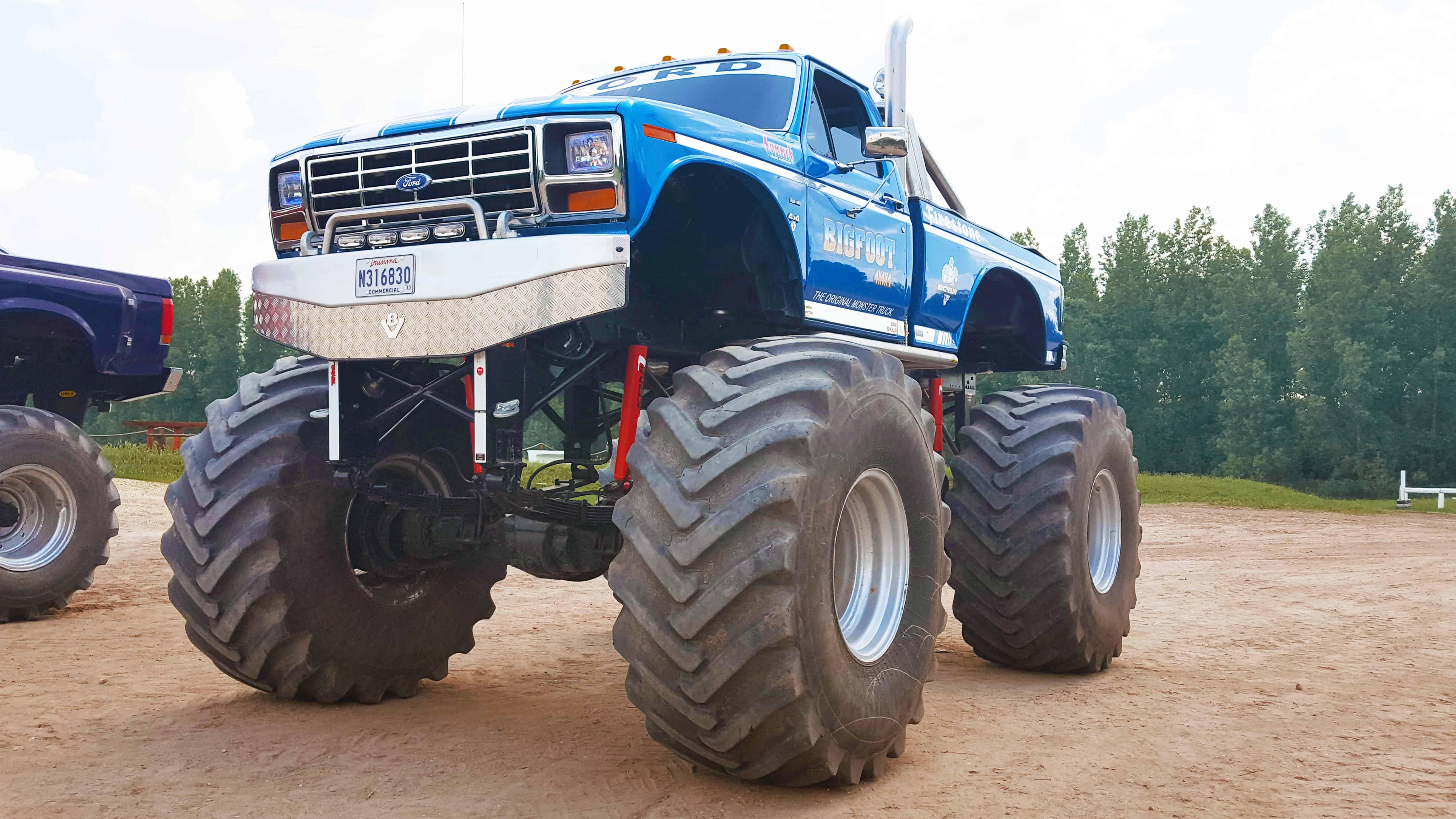 Ford F150 Bigfoot vezetés