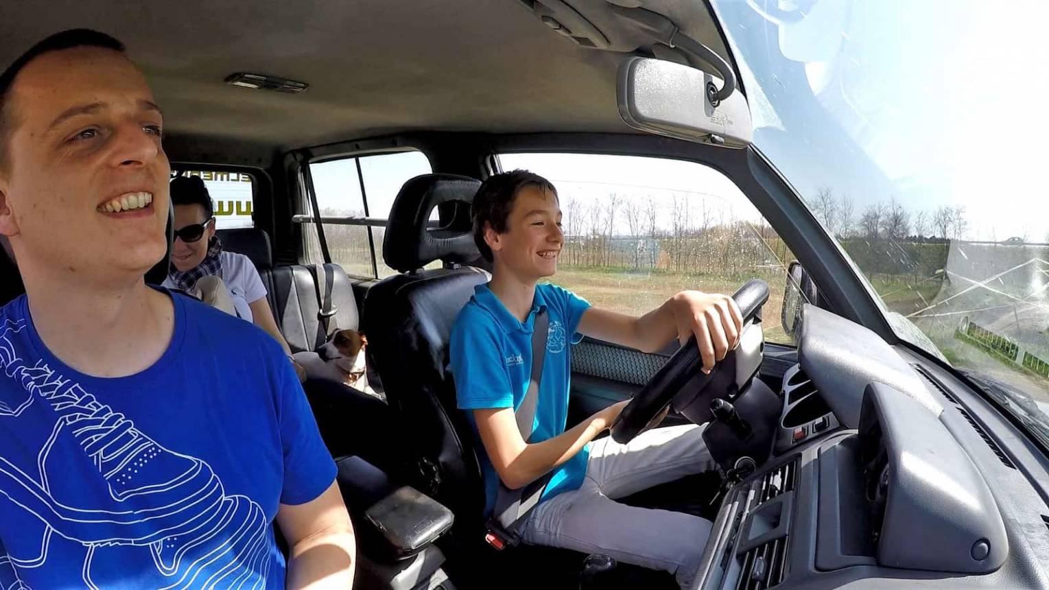Off road terepjáró vezetés gyerekeknek Taksonyban