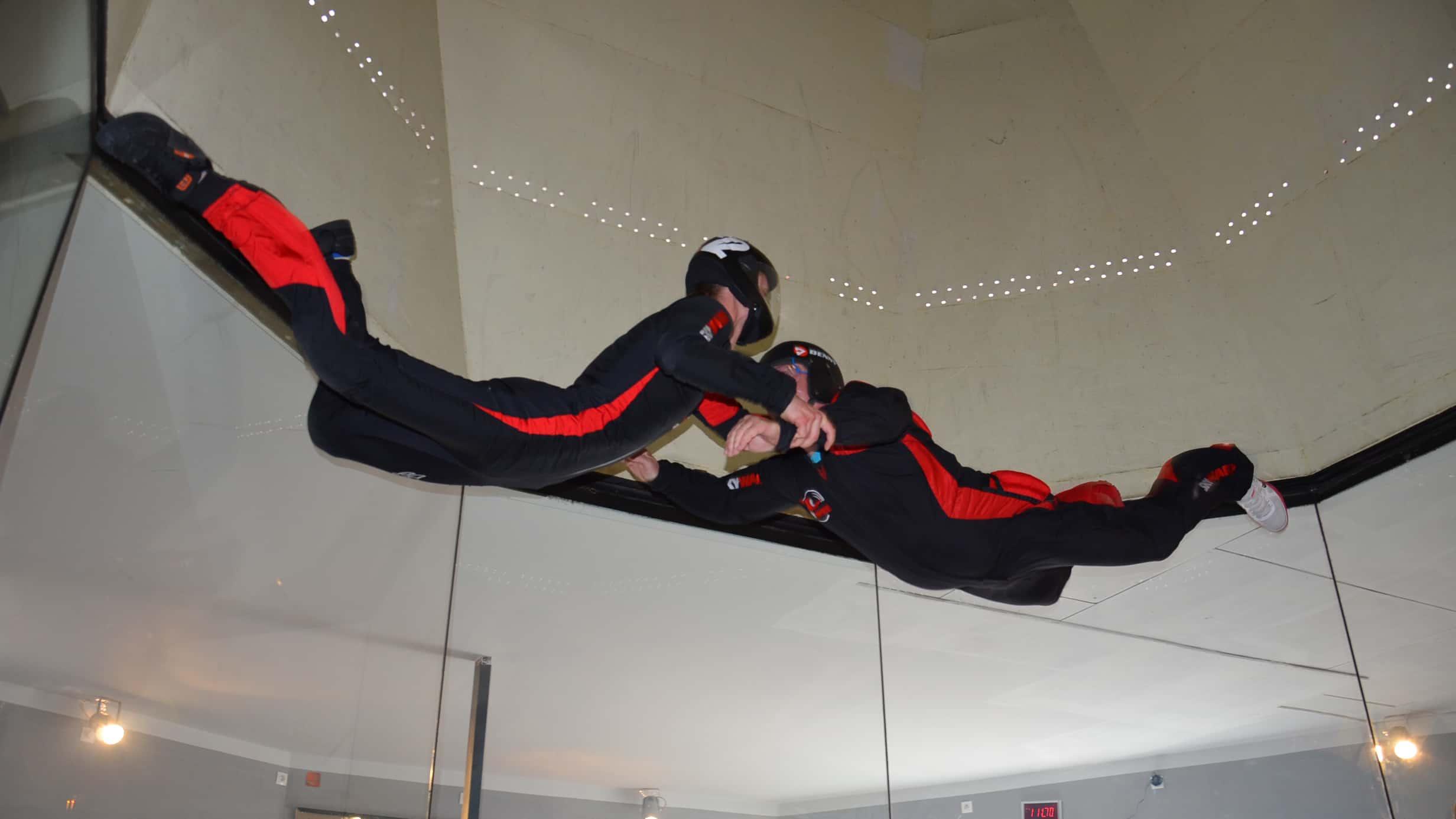 Taxiztatás szélcsatornában 9 méteres magasságban