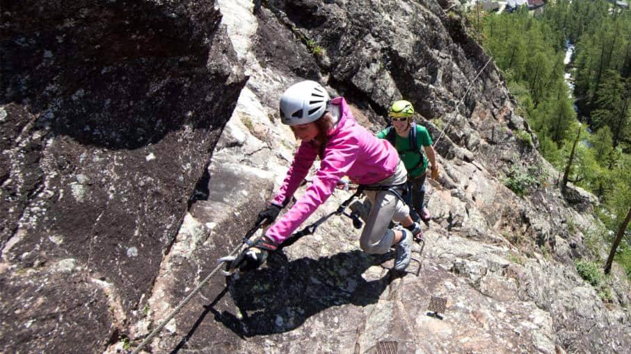 Via Ferrata speciális sziklamászás