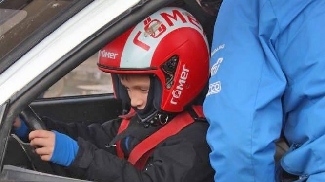 Rally vezetés gyerekeknek