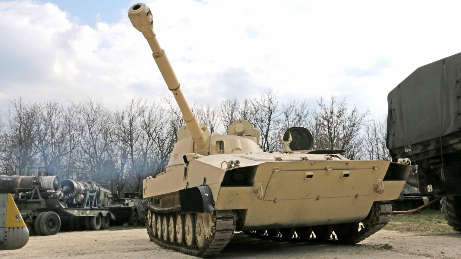 Vezess egy 2SZ1-es tankot Budaörsön