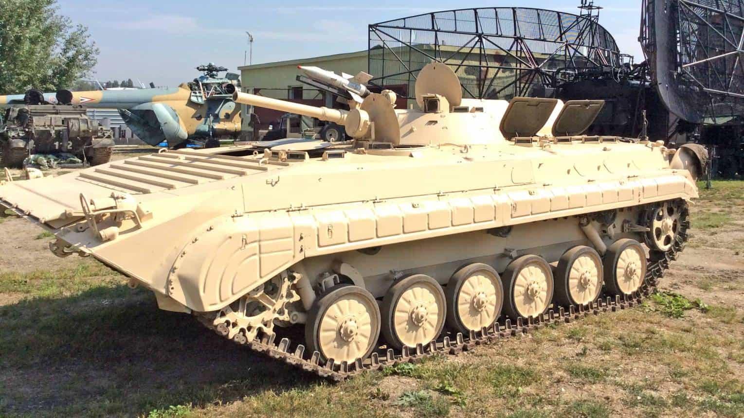 Vezess egy BMP1-es tankot Budaörsön