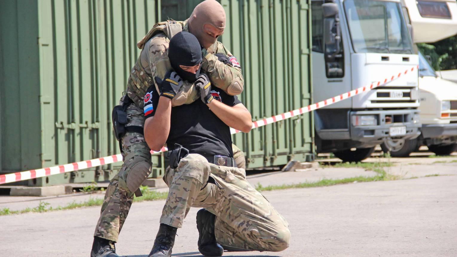 Spetsnaz, Speciális Orosz katonai kiképzés - félnapos tréing 6 fő részére