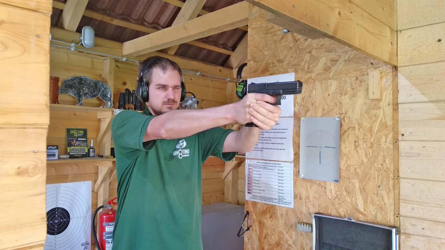 Pisztolyos lövészet Somogyaszalón