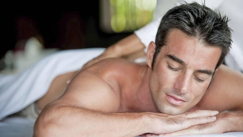 Férfi spa kezelés