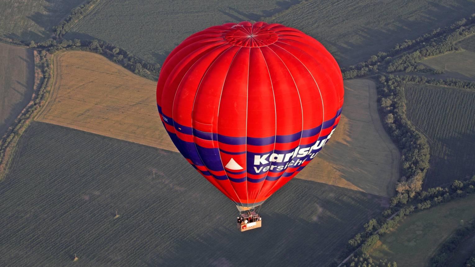 Csoportos Ballonos repülés balatoni panorámával 10 fő részére