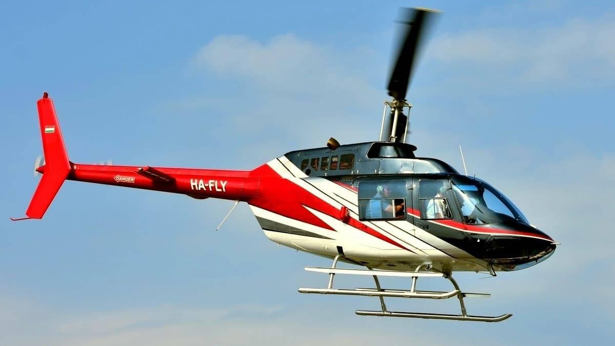 Éjszakai helikopterezés Budapest felett 4 utassal  BELL-206-tal
