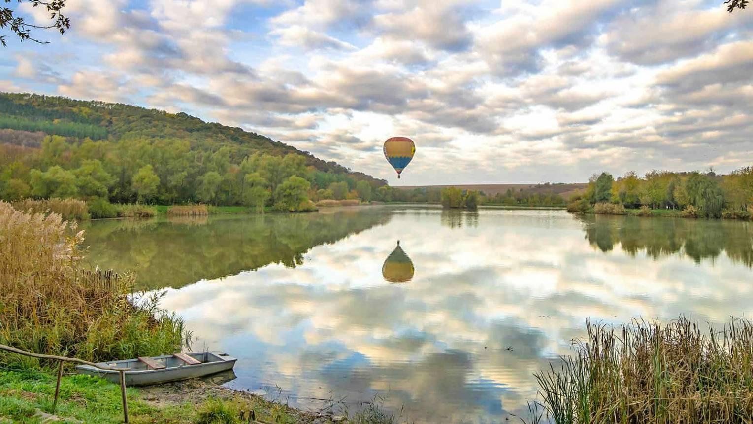 Hőlégballonozás Szekszárd felett 2 fő részére