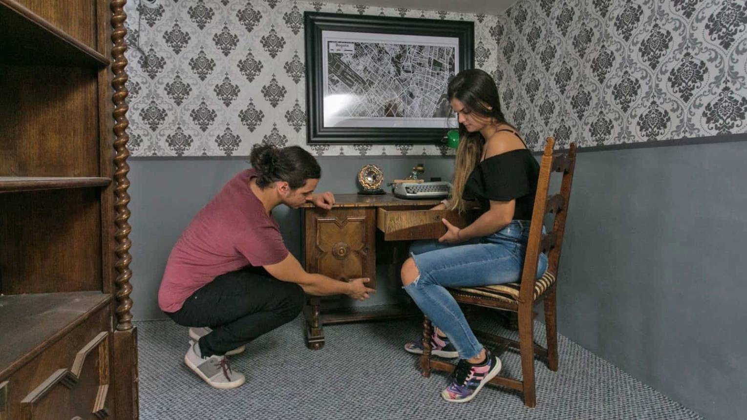 Az Escobar Ház szabadulószoba