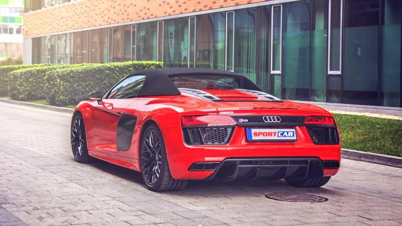Audi R8 a Veszedelem bérlése