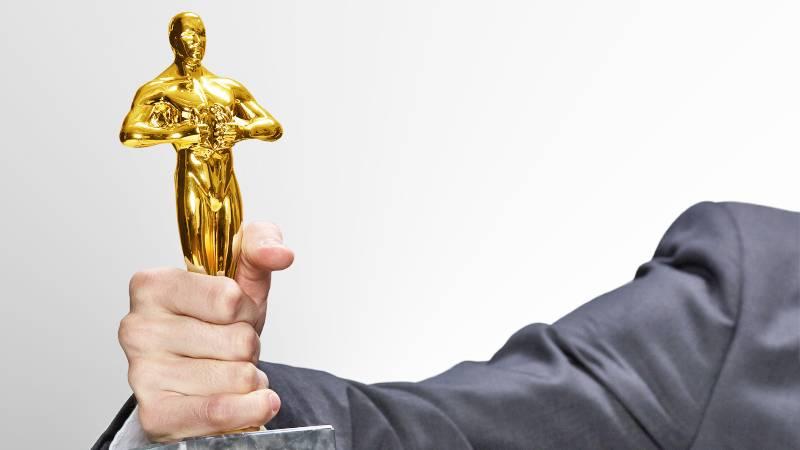 Oscar szobor gravírozás nélkül