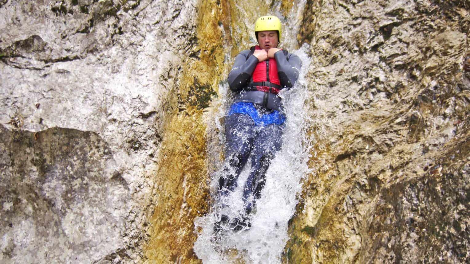 Canyoning Szlovéniában