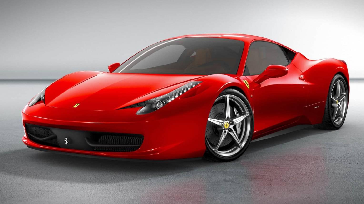 Ferrari 458 Italia utcai vezetés