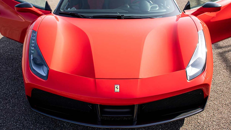 Élményautózás gyerekeknek Ferrari 458 Italia-val a DRX-Ringen