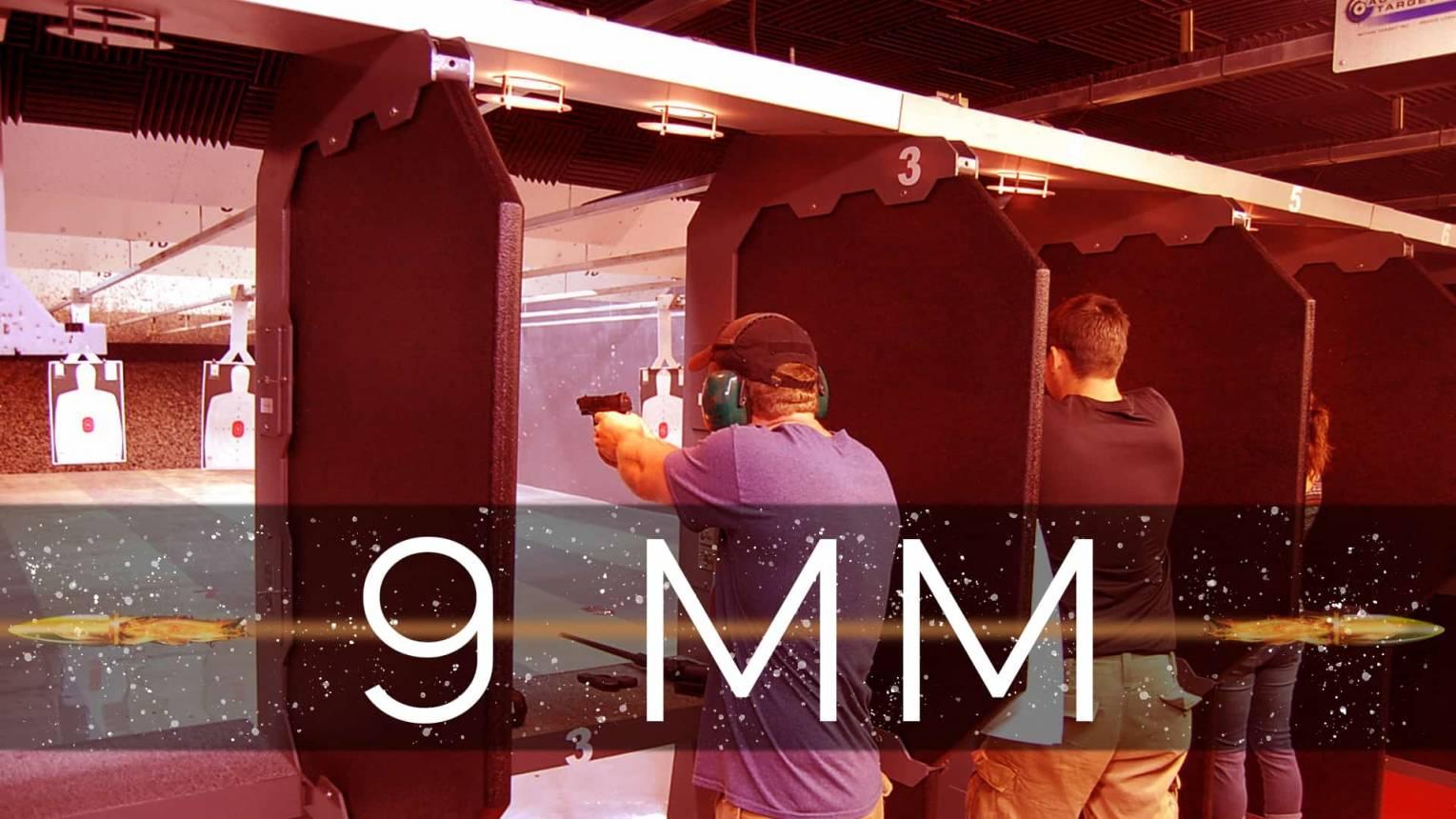 9 mm-es lövészet a belvárosban