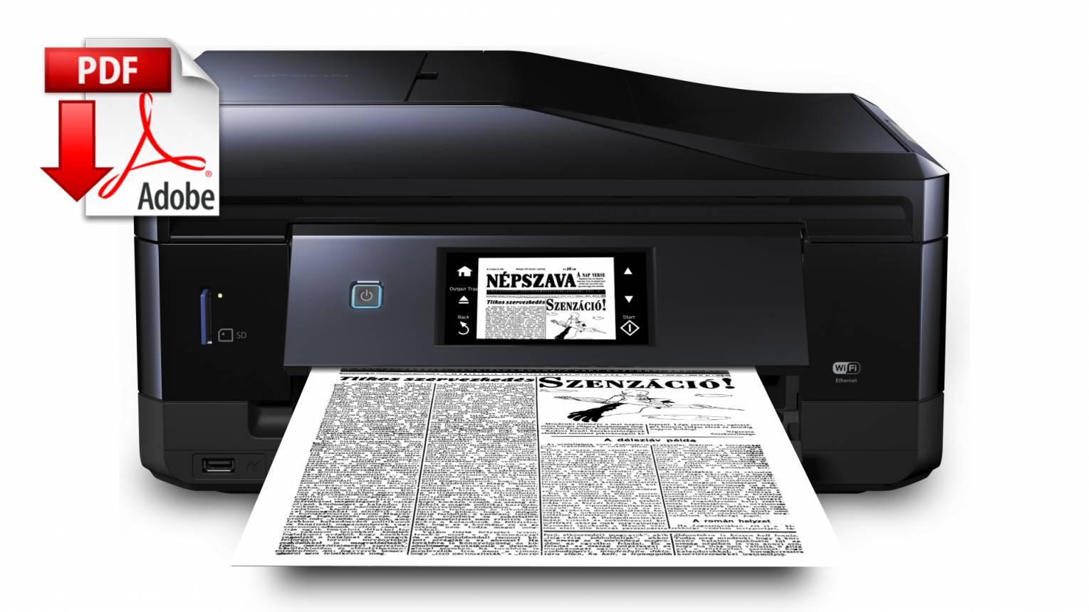 Születésnapi újság elektronikusan küldve PDF formátumban