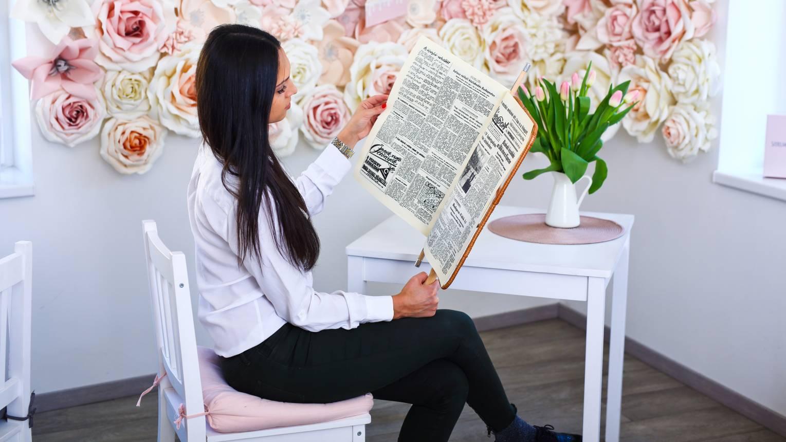 16 oldalas születésnapi újság egyedi cikkel akár 1 munkanap alatt