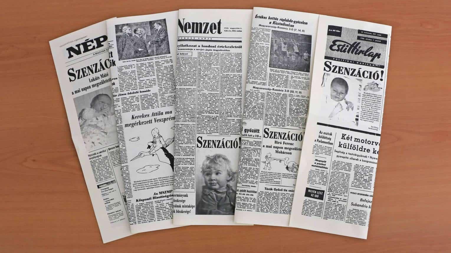 12 lapos újság céges alkalmakra
