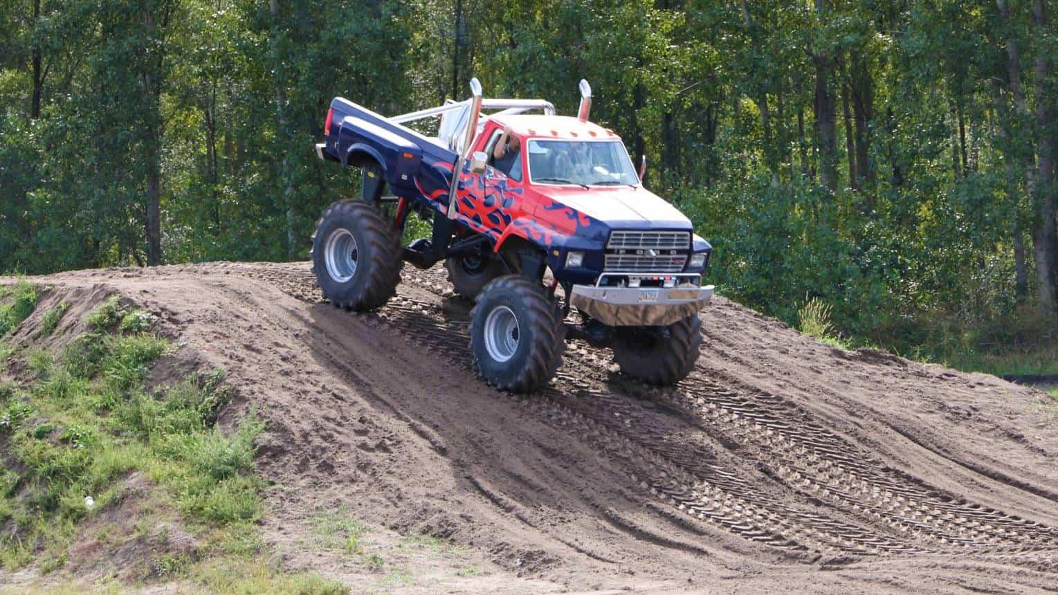 Óriás Monster Truck - Bigfoot vezetés 20 fő részére