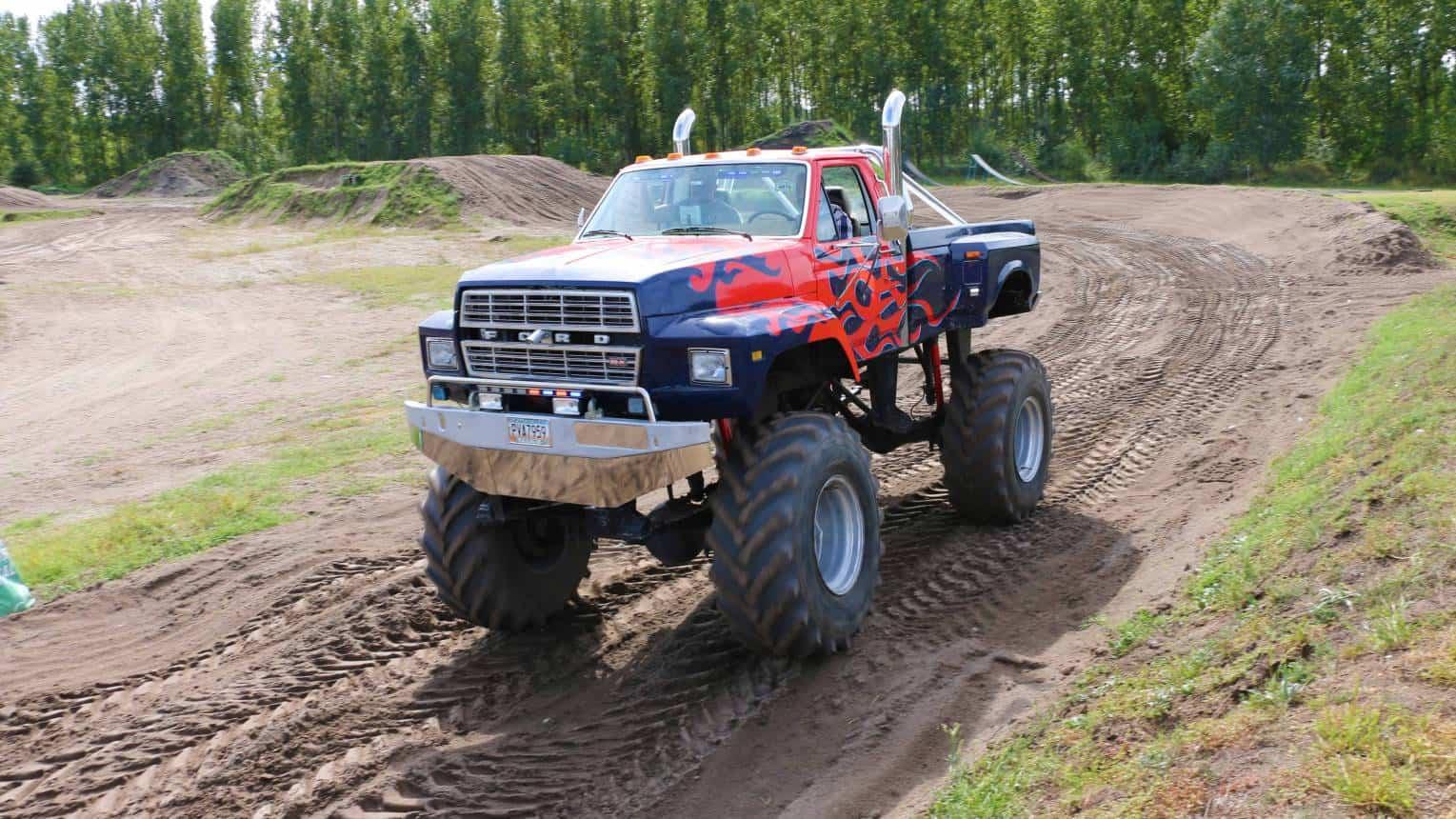 Ford BigFoot vezetés