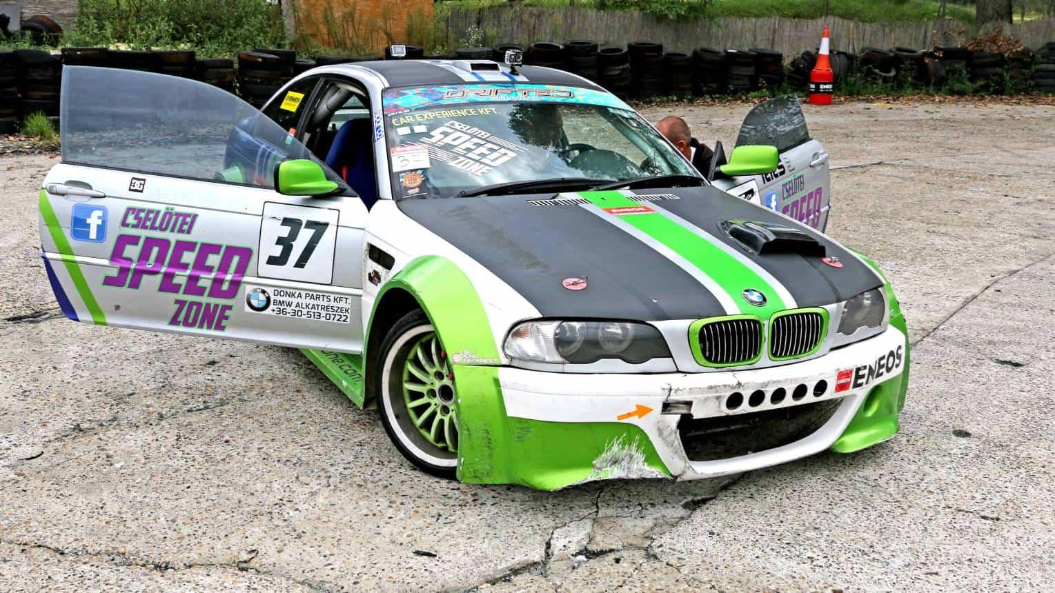 Drift élményautózás BMW-vel