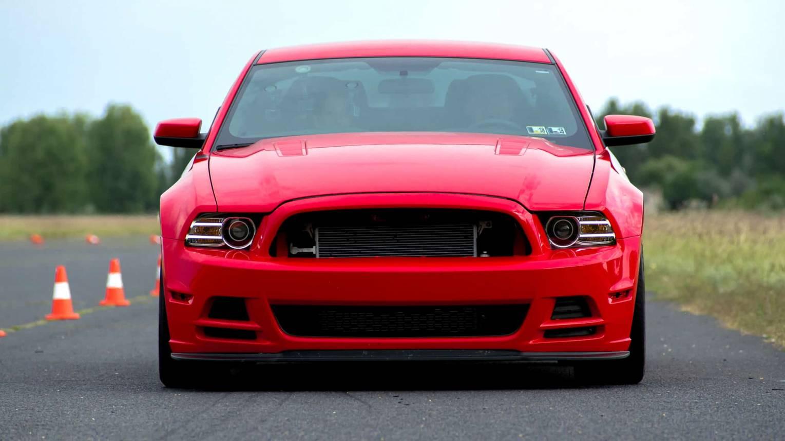 Mustang 302 Boss vezetés a DRX-ringen