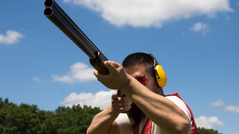 2 fős Agyaggalamb lövészet Olimpiai trap és skeet pályán a Mátrában