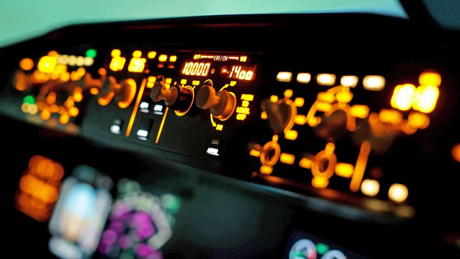 Airbus 320 repülőgép szimulátor