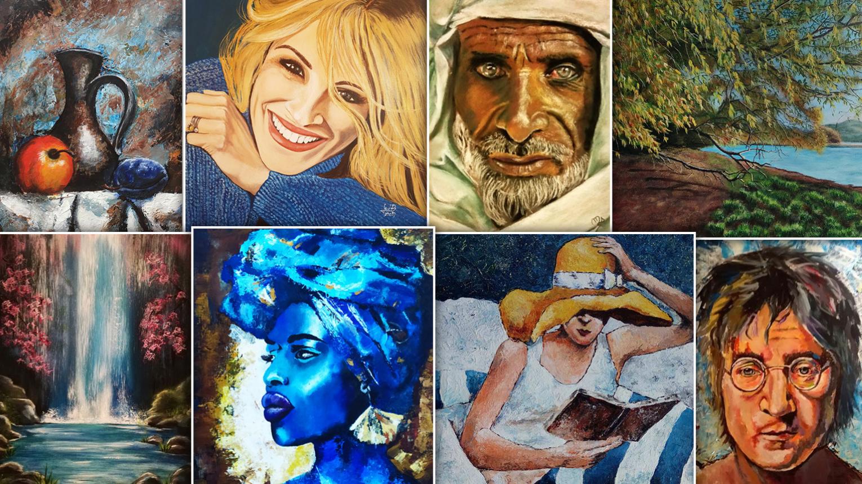 Festő tanfolyam - Akril festés a Valdor Art Rajziskolában