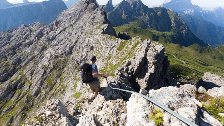 Alta Via 1 Dél–Klasszikus Túra a Dolomitokban 2022.Szeptemberben