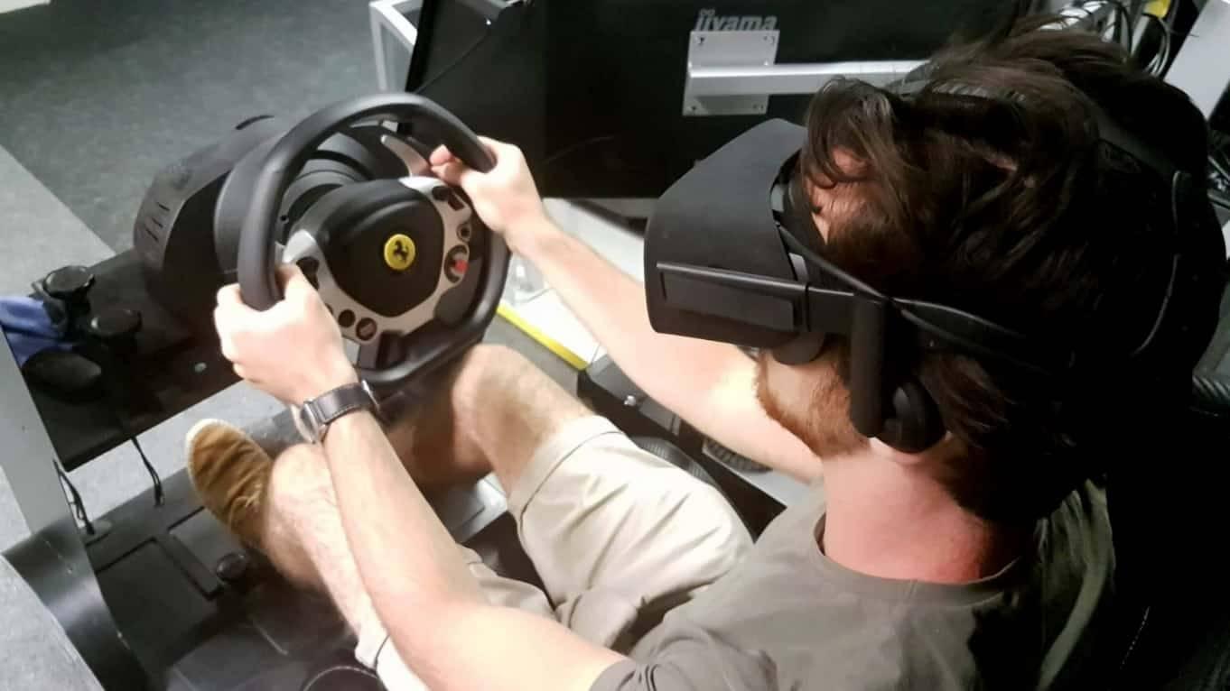 Autós VR Szimulátor száguldás mániásoknak