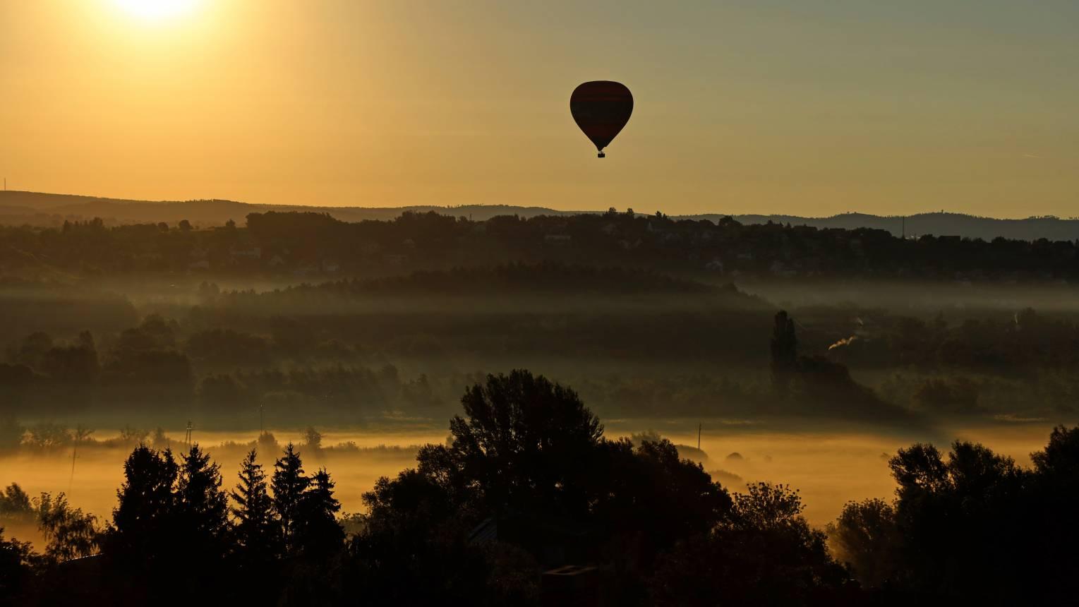 Balatoni hőlégballonozás