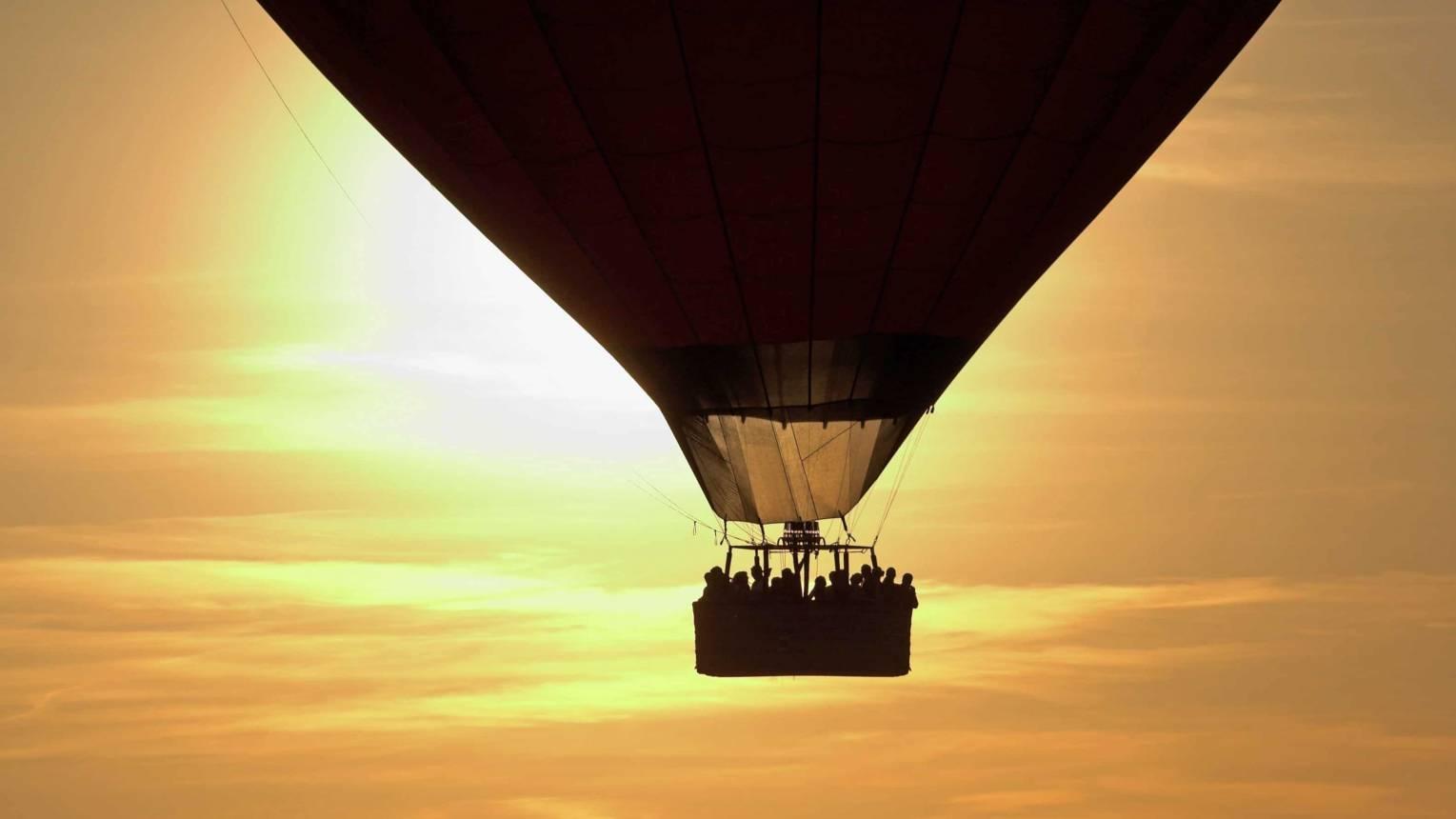 Balatoni hőlégballonozás gyerekeknek kísérővel