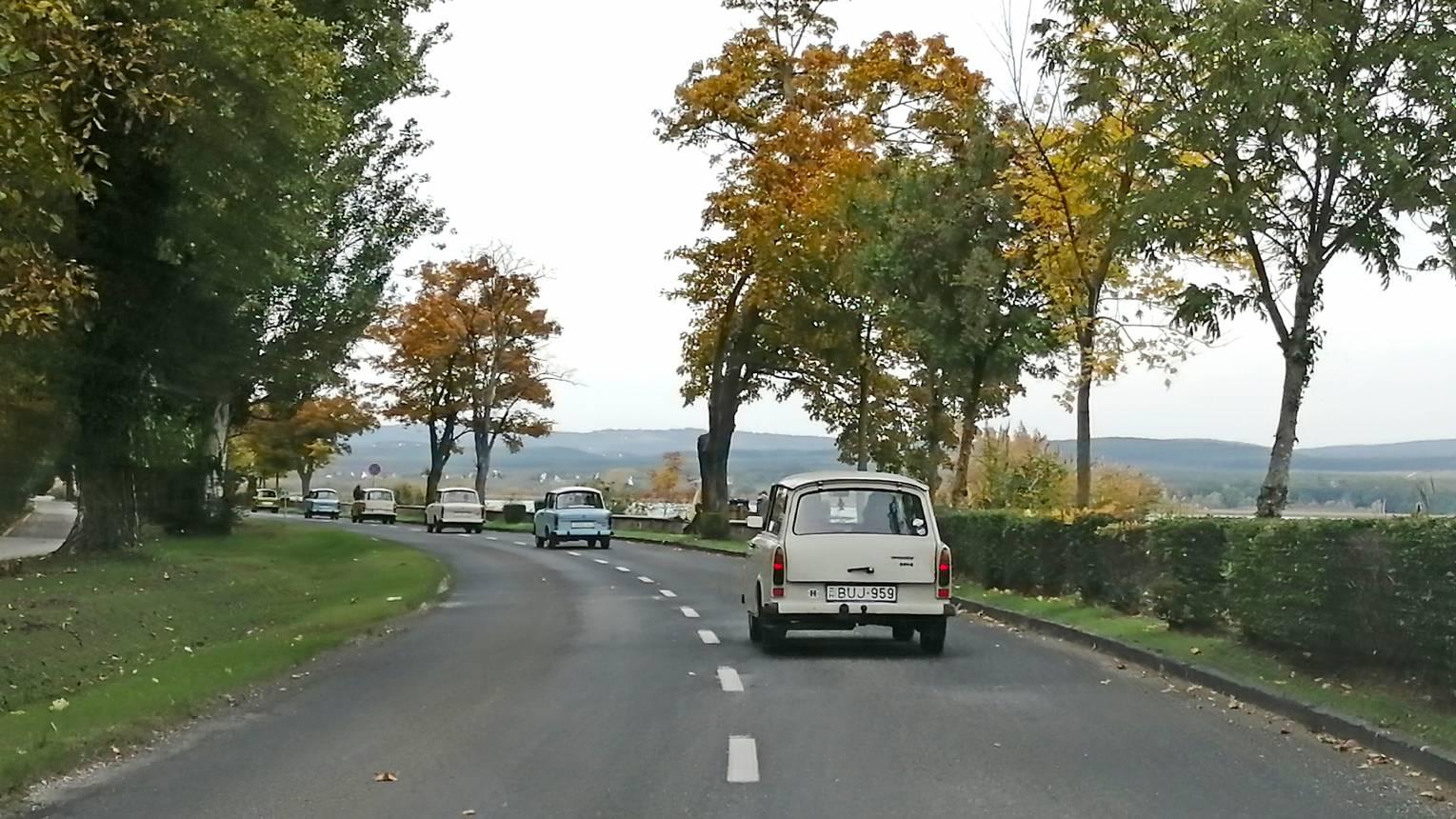 Retro Trabant bérlés a Balaton mellett