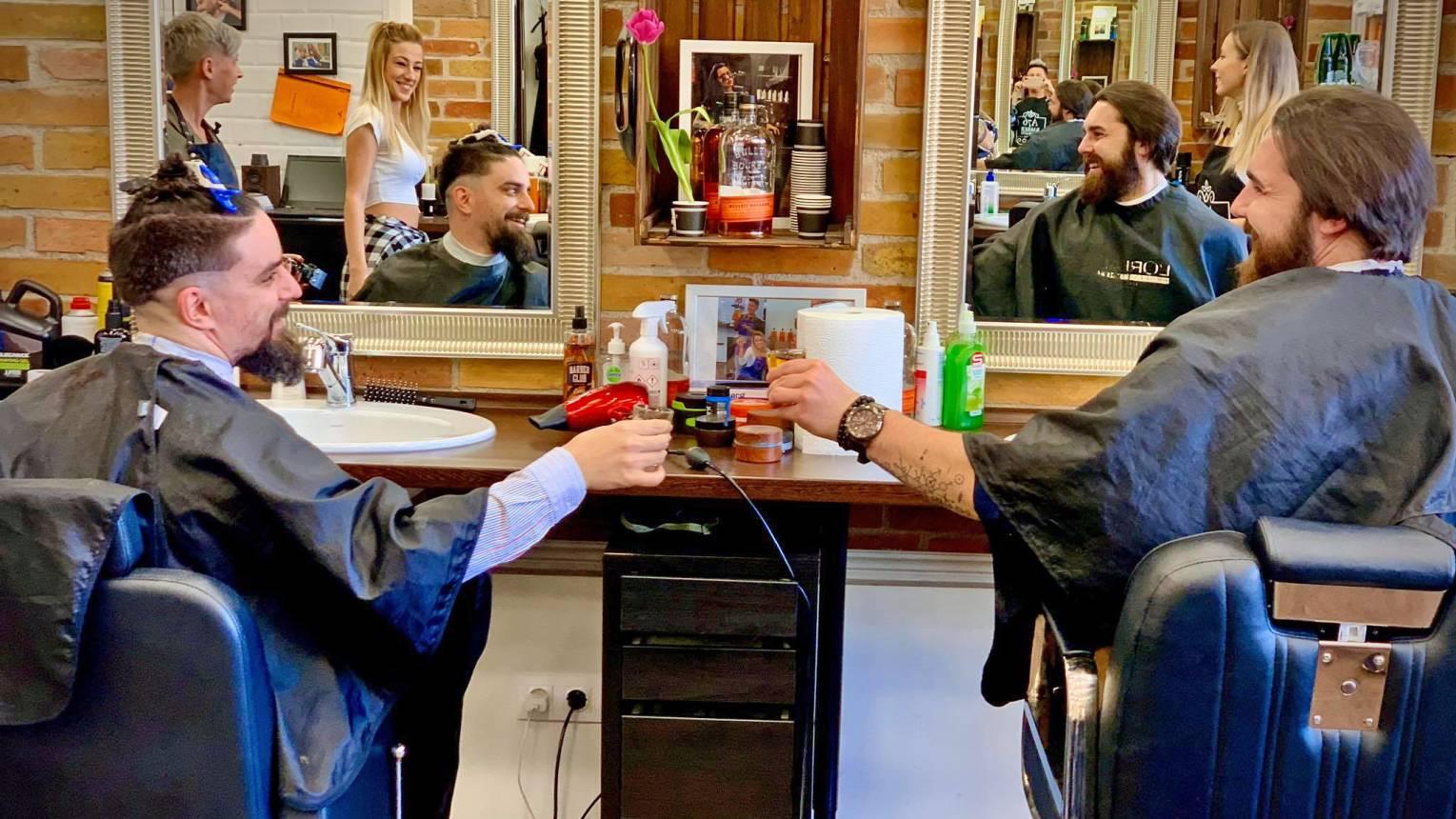 Barber Queensnél Rendbe teszlek csomag