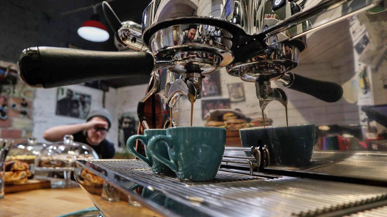 Barista workshop a Tamp & Pull Espresso Bar-ban
