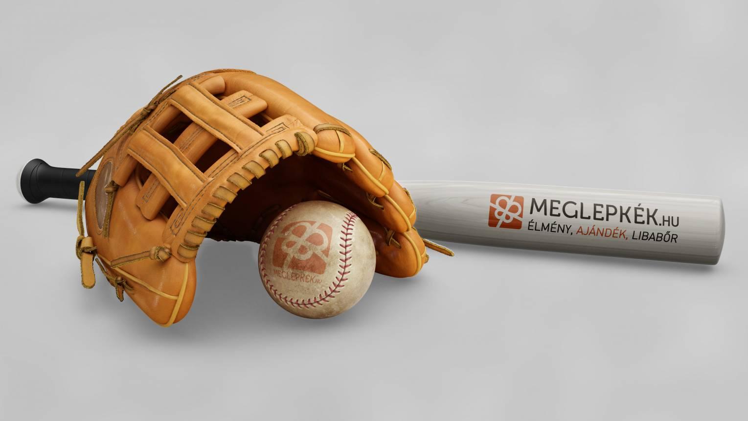Baseball ütő egyedi gravírozással