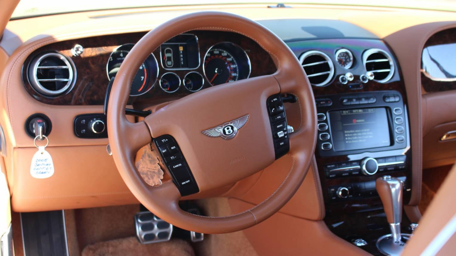 Bentley Continental GT 6.0 autópályás vezetés