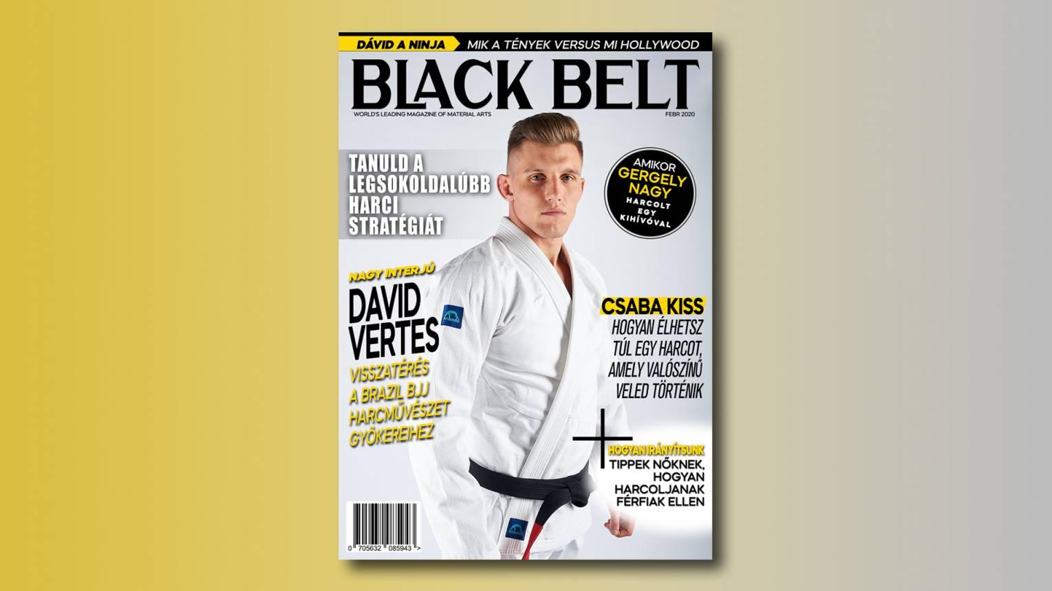 Szerepelj a Black Belt címlapján