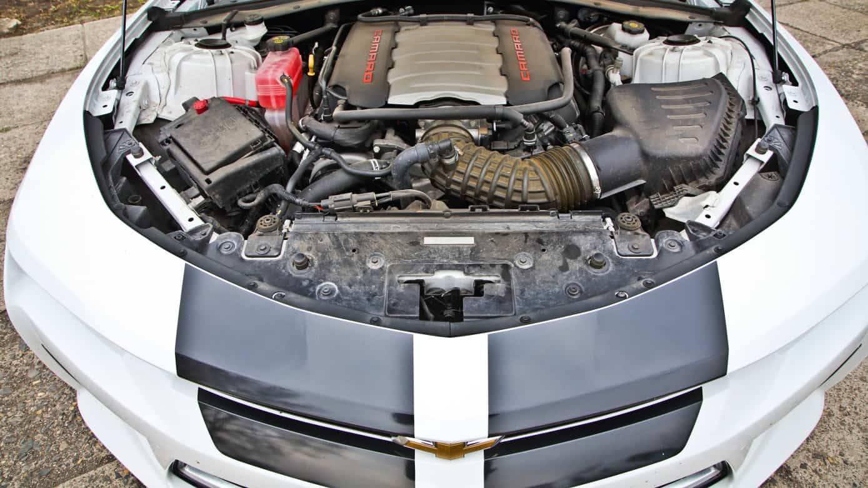 Chevrolet Camaro SS vezetés a DRX-ringen