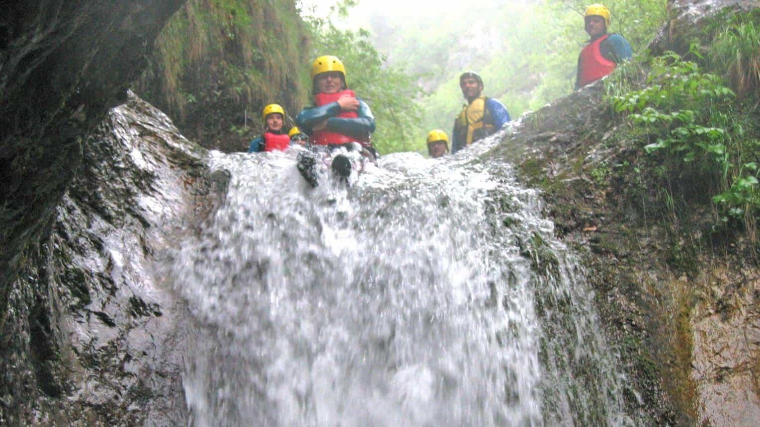 Canyoning Szlovéniában 5-15 fő részére