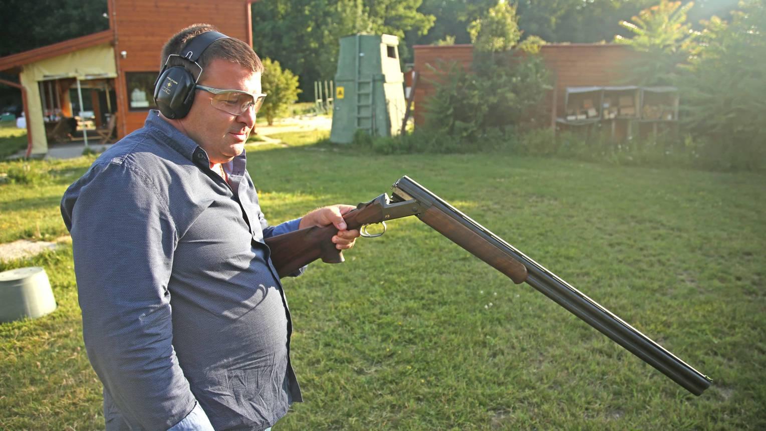 Agyaggalamb lövészet 10 fő részére