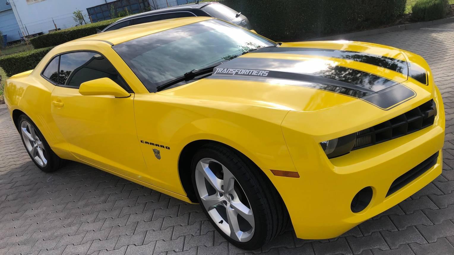 Chevrolet Camaro Transformers Edition bérlése