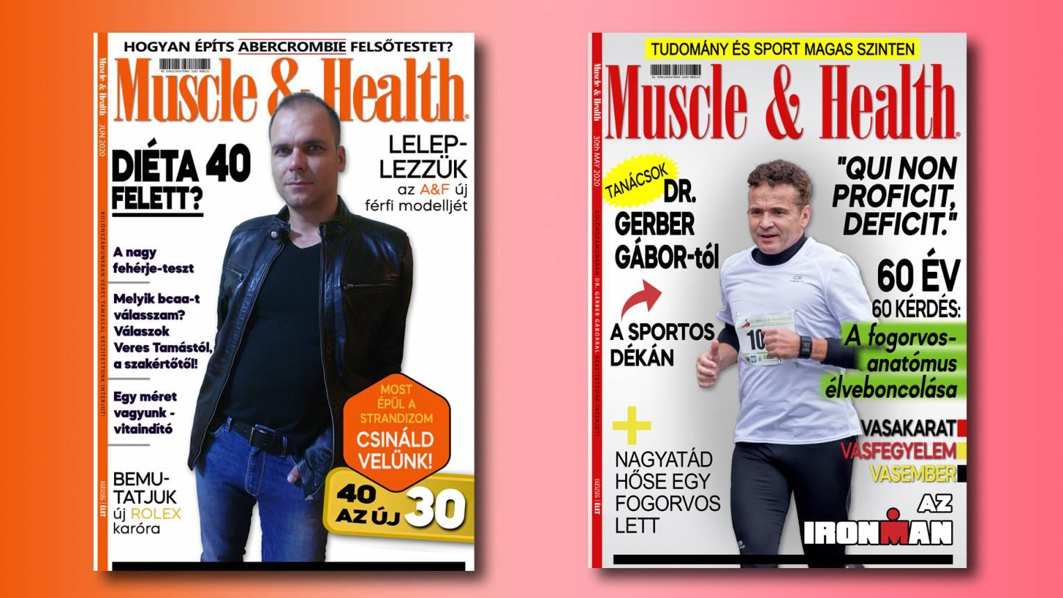 Szerepelj a Muscle & Health címlapján