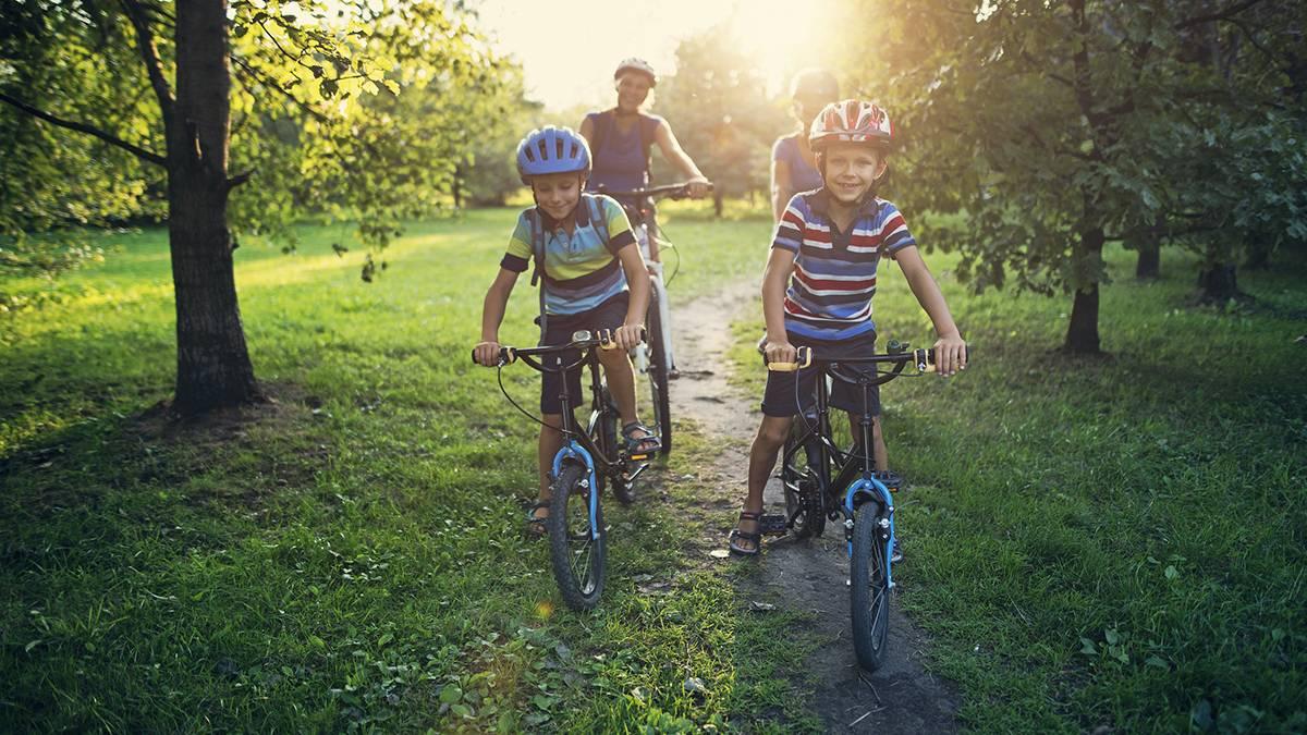 Családi kerékpártúra gyerekekkel a Mátrában