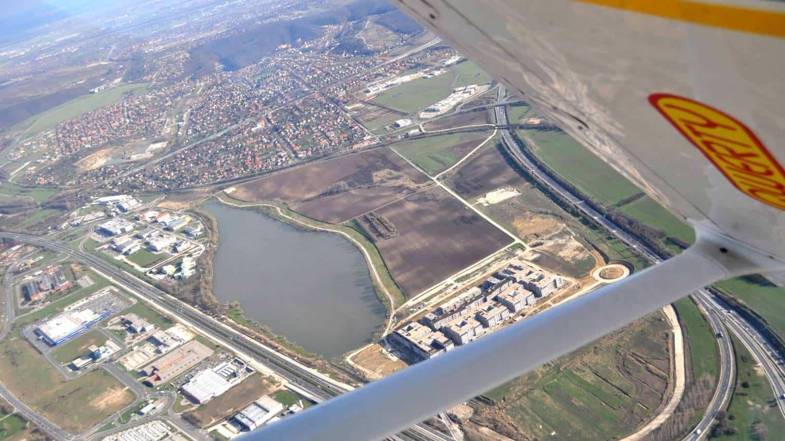 Családi városnézés repülővel Budapest felett