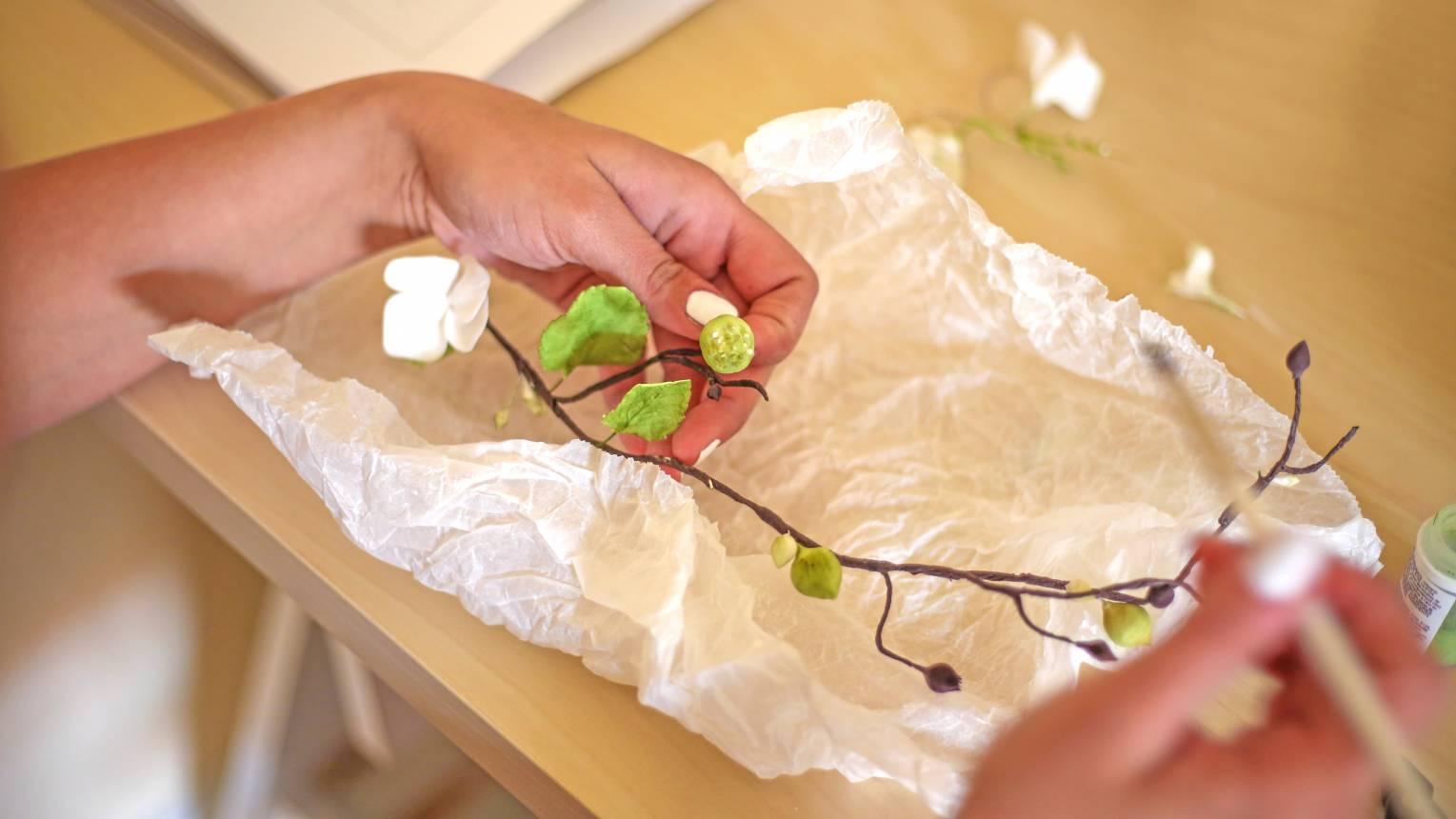 Cukorvirág készítő Workshop ajándékba - 4 órás