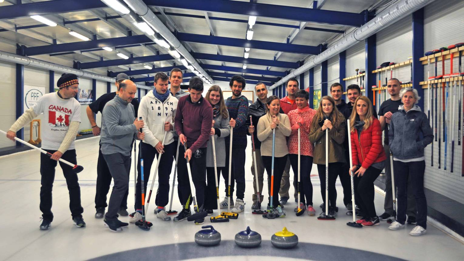 Curling 8 fő részére 1 pálya